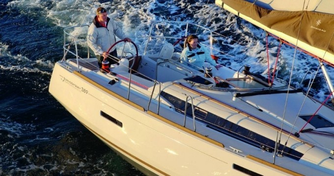 Boat rental Ajaccio cheap Sun Odyssey 389