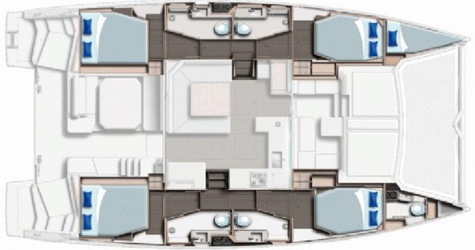 Boat rental Raiatea cheap Moorings 4500L