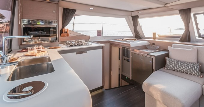 Fountaine Pajot Isla 40 between personal and professional Marsala