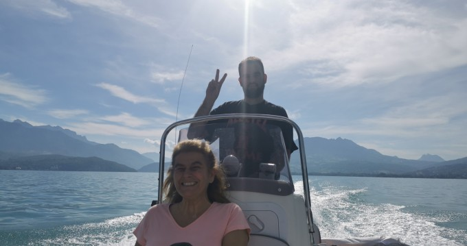 Rental RIB in Annecy - Bombard Explorer 550 Open Pack