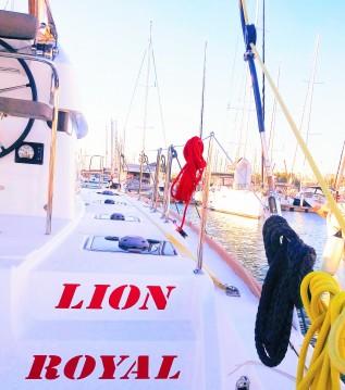 Rental Catamaran in Paros Island - Lagoon Lagoon 39