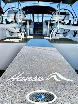 Boat rental Nikiána cheap Hanse 508
