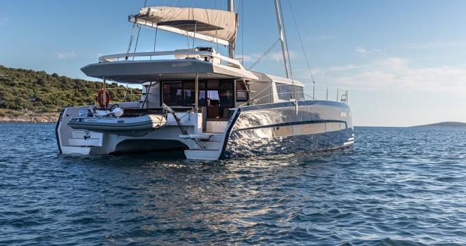 Rent a Dufour Dufour 48 Catamaran - 5 + 1 cab. Primošten