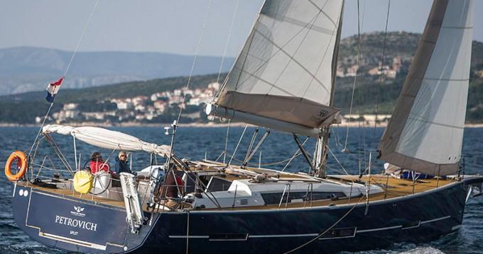 Rental yacht Primošten - Dufour Dufour 560 GL - 4 + 1 cab. on SamBoat