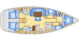 Rental Sailboat in Lávrio - Bavaria Bavaria 50 Cruiser