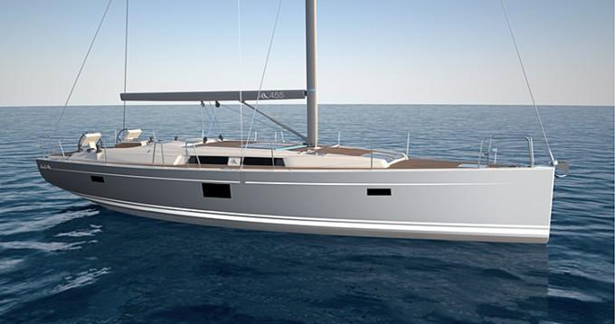 Rental yacht Lávrio - Hanse Hanse 455 on SamBoat