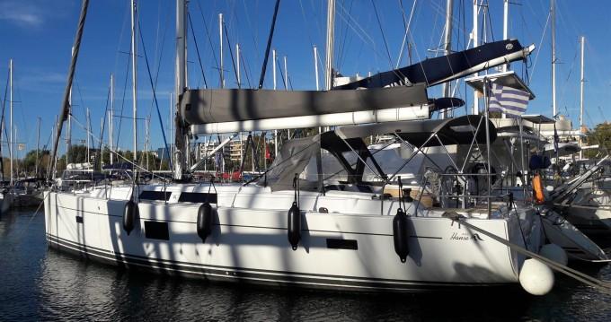 Rental Sailboat in Lávrio - Hanse Hanse 455