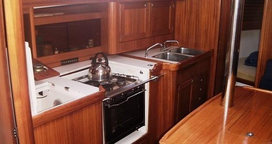 Boat rental Betina cheap Elan 36