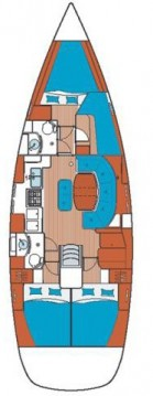 Rental Sailboat in Betina - Bénéteau Oceanis 411 Clipper