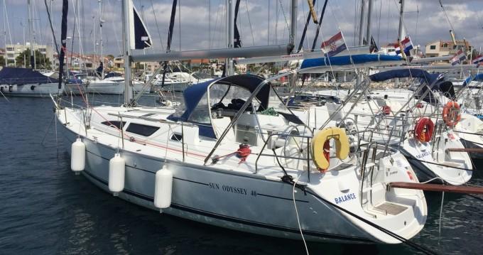 Boat rental Jeanneau Sun Odyssey 40 in Betina on Samboat