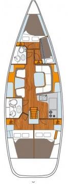 Rental Sailboat in Betina - Jeanneau Sun Odyssey 43 DS