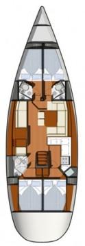 Rental Sailboat in Betina - Jeanneau Sun Odyssey 50 DS