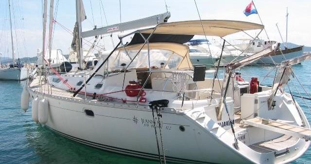 Boat rental Jeanneau Sun Odyssey 52.2 in Betina on Samboat