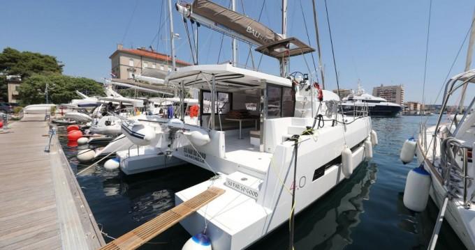 Rental yacht Zadar - Catana Bali 4.0 - 4 + 2 cab. on SamBoat