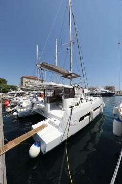 Rental Catamaran in Zadar - Catana Bali 4.0 - 4 + 2 cab.