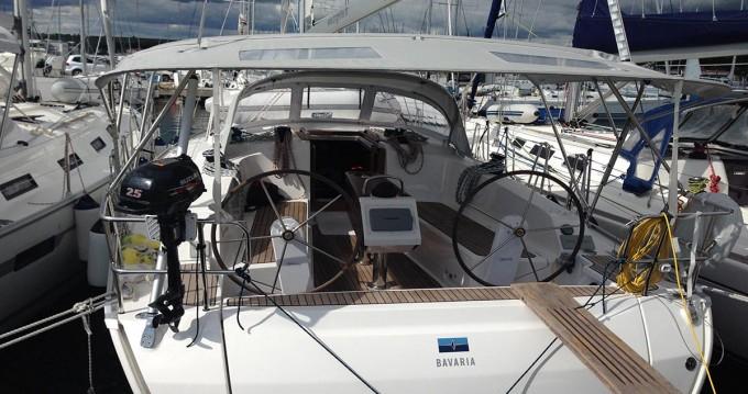 Boat rental Bavaria Cruiser 41 in Zadar on Samboat