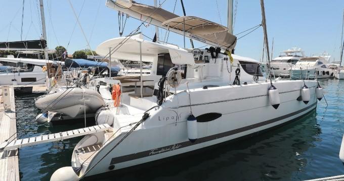 Boat rental Zadar cheap Lipari 41 - 4 + 2 cab.