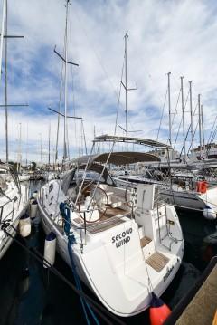 Boat rental Zadar cheap Oceanis 40