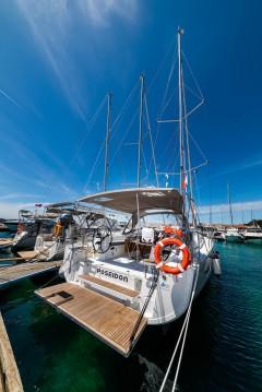 Boat rental Zadar cheap Oceanis 40.1