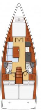 Rental Sailboat in Fethiye - Bénéteau Oceanis 38.1