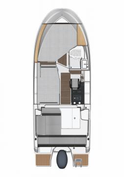 Rental yacht Pula - Jeanneau Merry Fisher 795 on SamBoat
