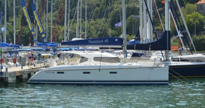 Rental yacht Komolac - Nautitech Nautitech 40 on SamBoat