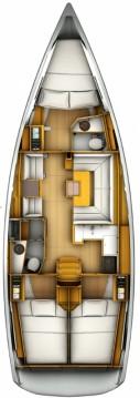 Rental yacht Komolac - Jeanneau Sun Odyssey 419 on SamBoat
