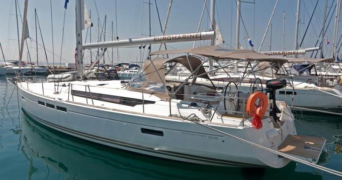 Boat rental Split cheap Sun Odyssey 509