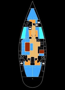 Rental Sailboat in Foinikas - Alfa Sailing Yachts Alfa 51