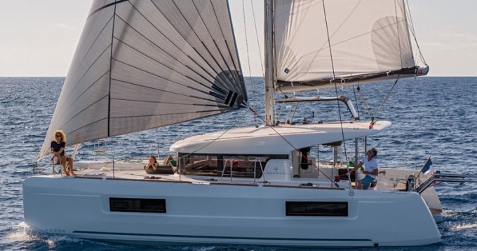 Rental yacht Primošten - Lagoon Lagoon 40 on SamBoat