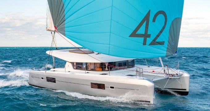 Boat rental Primošten cheap Lagoon 42