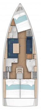 Boat rental Jeanneau Sun Odyssey 380 in Bodrum on Samboat