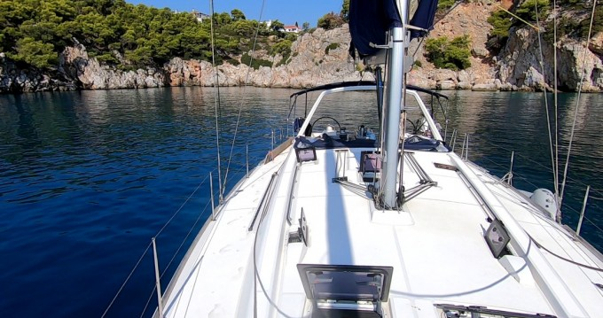 Boat rental Lávrio cheap Oceanis 48