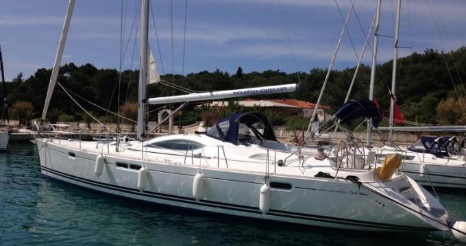 Rental yacht Rogoznica - Jeanneau Sun Odyssey 54 DS on SamBoat