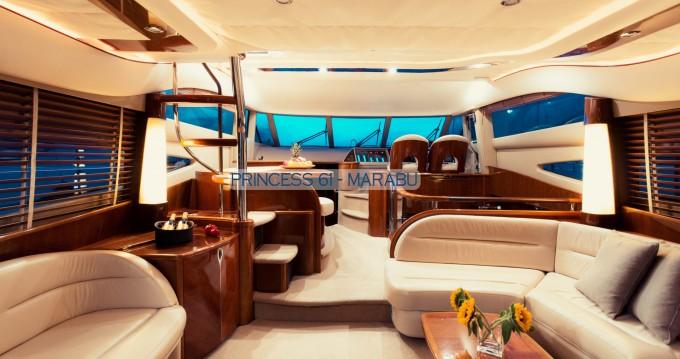 Rental yacht Gouvia - Princess Princess 61 on SamBoat