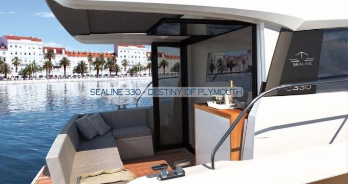 Boat rental Gouvia cheap Sealine C330