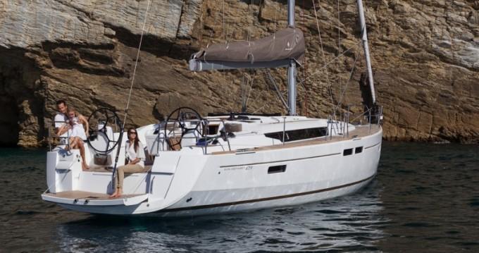 Rental Sailboat in Gouvia - Jeanneau Sun Odyssey 479