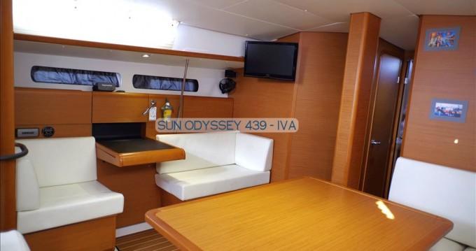 Rent a Jeanneau Sun Odyssey 439 Gouvia
