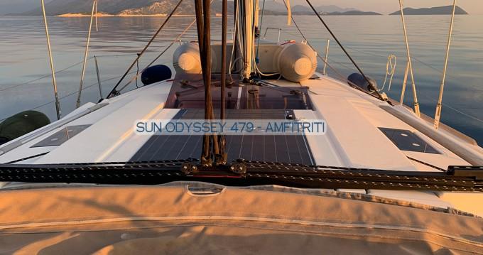 Rent a Jeanneau Sun Odyssey 479 Gouvia