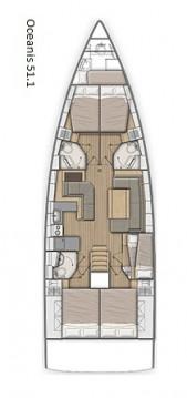 Rental yacht Alimos - Bénéteau Oceanis 51.1 on SamBoat