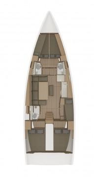 Rental Sailboat in Biograd na Moru - Dufour Dufour 460 Grand Large