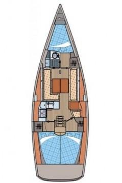 Boat rental Biograd na Moru cheap Elan 350 Performance - 3 cab.