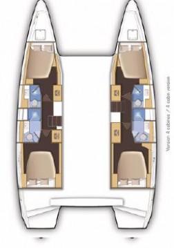 Rental Catamaran in Biograd na Moru - Lagoon Lagoon 46