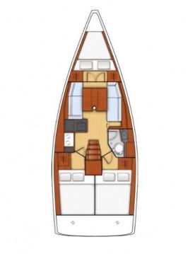 Rental yacht Biograd na Moru - Bénéteau Oceanis 35 on SamBoat