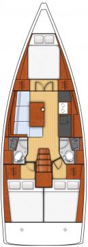 Boat rental Bénéteau Oceanis 38.1 in Biograd na Moru on Samboat