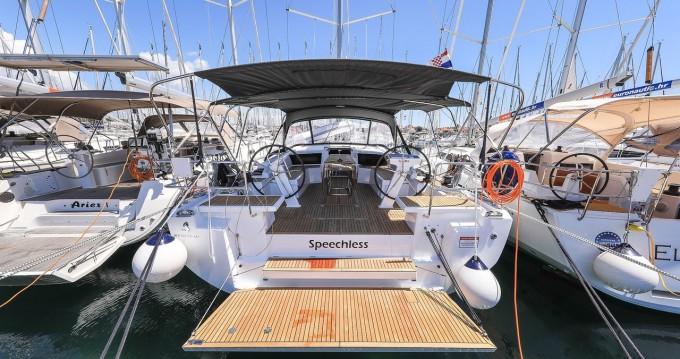 Boat rental Biograd na Moru cheap Oceanis 46.1