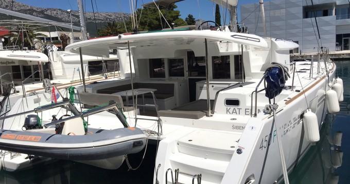 Hire Catamaran with or without skipper Lagoon Kaštela