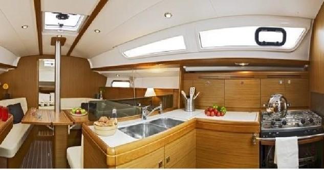 Boat rental Jeanneau Sun Odyssey 36i in Gouvia on Samboat