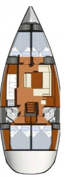 Rental Sailboat in Gouvia - Jeanneau Sun Odyssey 44i
