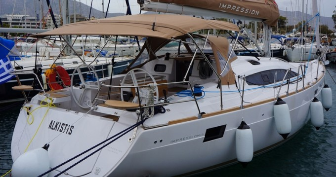 Hire Sailboat with or without skipper Elan Alimos
